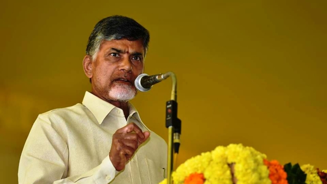 TDP supremo and Andhra Pradesh Chief Minister Chandrababu Naidu.
