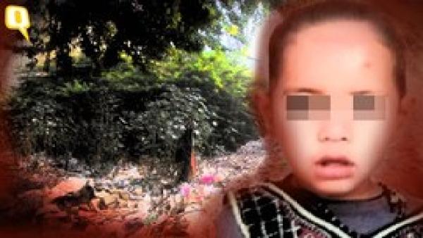 The 4-year-old Keshavpuram rape survivor. (Photo: <b>The Quint</b>)