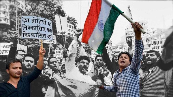 Allowing the continued misuse of Section 124A is to permit the undermining of Indian democracy, now and in the future.  (Photo: PTI, altered by <b>The Quint</b>)