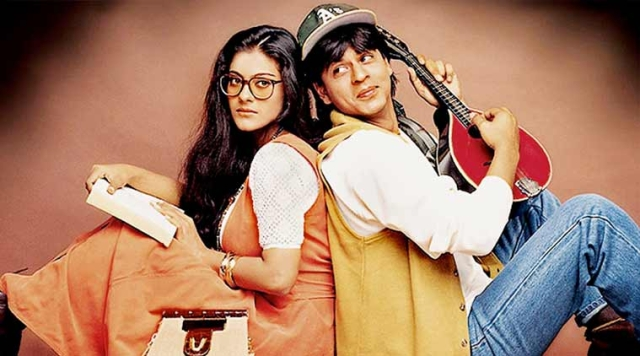 Kajol and Shah Rukh Khan in <i>DDLJ</i>. (Photo courtesy: Yashraj Films)