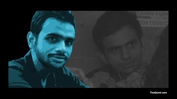 Umar Khalid, a PhD student at JNU and an activist. (Photo: <b>The Quint</b>)
