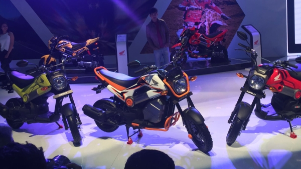Honda Navi unveiled at the Delhi Auto Expo 2016. (Photo: S Aadeetya)