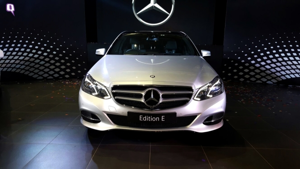 Mercedes Edition E-Class. (Photo: <b>The Quint</b>)