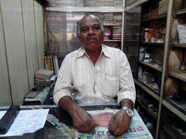 The shop is run by Mr Arjun Kale, son of the founder, Late Mr Dattareya Kale. (Photo Courtesy: Siddharth Mohan Nair)