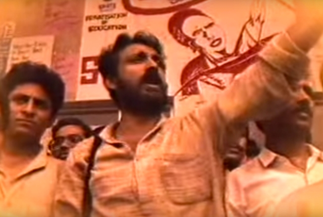 Chandrashekhar Prasad inspired unprecedented protests in the wake of his murder. (Photo Courtesy: YouTube Screenshot/Ek Minute Ka Maun)