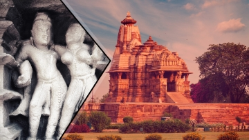 According to an audio guide, only a tenth of Khajuraho's sculptures are explicit in nature. (Photo: iStock/Altered by <b>The Quint</b>)
