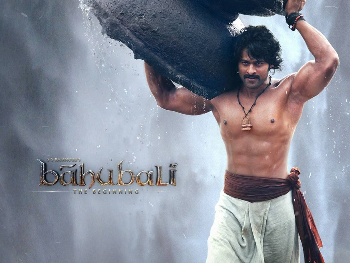 Prabhas to weigh an incredible 150 kg for baahubali 2 the quint prabhas in a publicity still from ibaahubali the thecheapjerseys Choice Image