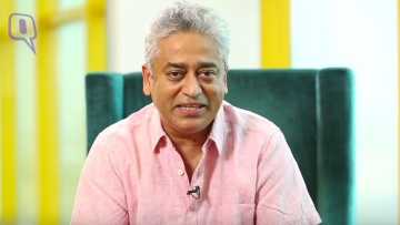 Rajdeep Sardesai talks 'nationalism' with <b>The Quint. </b>