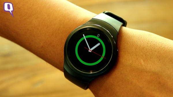 Samsung Gear S2. (Photo: <b>The Quint</b>)