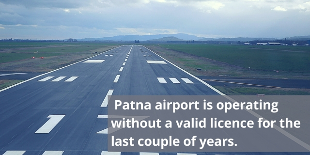 DGCA had held back the licence of the Patna airport in 2012. (Representational image: iStockphoto)
