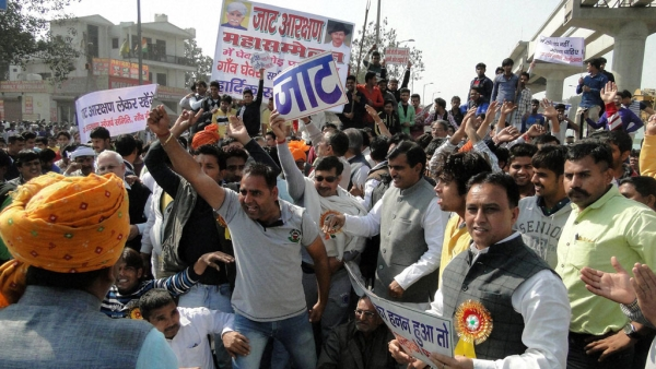 Tension has gripped Haryana over the demand of reservation for Jats. (Photo: PTI)