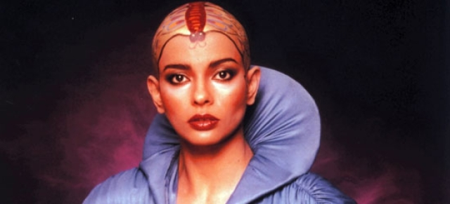 Persis Khambatta in a promotional still from <i>Star Trek: The Motion Picture</i>