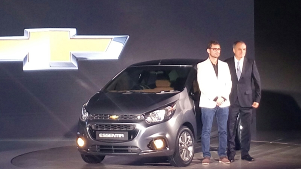 Chevrolet promises two new cars Essentia and Beat Active. (Photo: S Aadeetya)