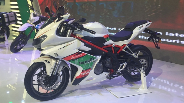 DSK Benelli Unveils Tornado 300 at Delhi Auto Expo 2016. (Photo: Manav Sinha)