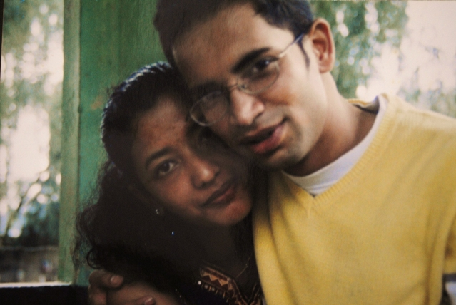 Sudipa and Tridip Mandal in college. (Photo: Tridip Mandal)