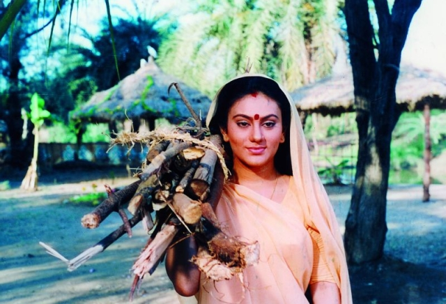 Deepika Chikhale as Sita in a scene from the TV series <i>Ramayana</i>