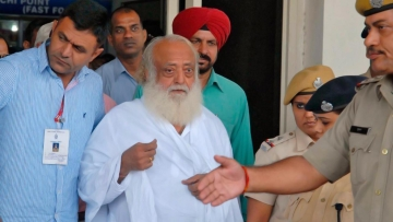 File photo of self-proclaimed religious figure Asaram Bapu. (Photo: Reuters)