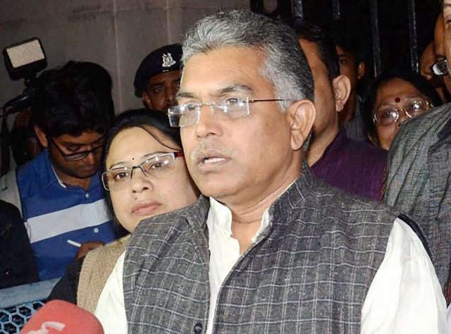West Bengal BJP President Dilip Ghosh. (Photo: PTI)