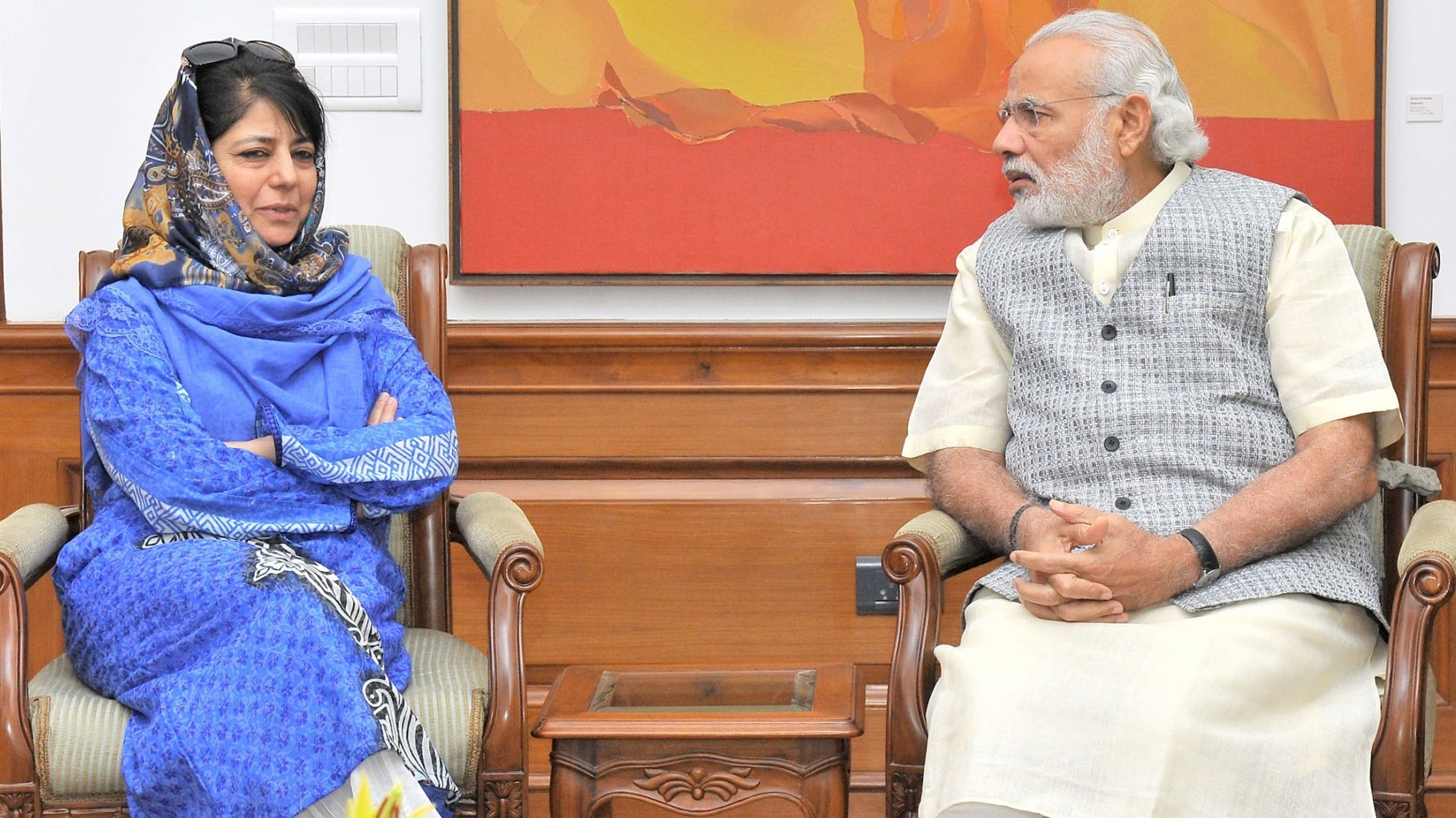 'Pak's Nukes Aren't Kept For Eid Either': Mufti's Jibe at PM Modi