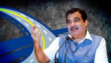 Union road transport minister, Nitin Gadkari, claims that the pace of highway construction has increased by almost ten times under his watch.  (Photo: The Quint)