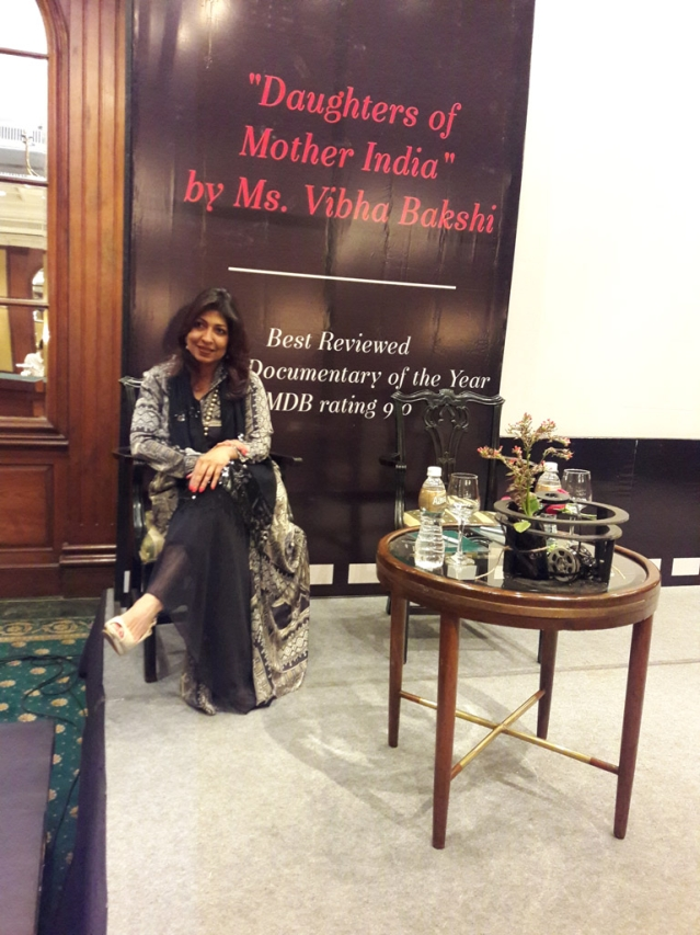 Vibha Bakshi, Director, Daughters of Mother India. (Photo Courtesy: Payal Mohanka)