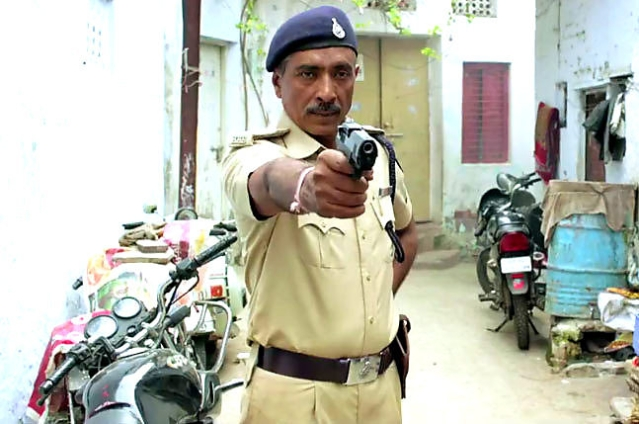 Director, writer and actor Prakash Jha in a scene from<i> Jai Gangaajal </i>(Photo: YouTube/PJP-Play)