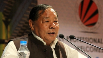 During his stint as the speaker, Sangma had to manage the house with three coalition governments. (Photo: IANS)