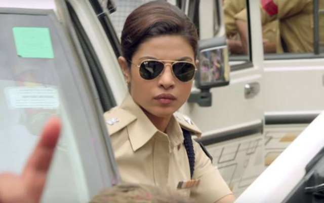 Priyanka Chopra plays the<i> mardani  </i>SP Abha Mathur in Prakash Jha's <i>Jai Gangaajal </i>(Photo: Facebook/<i>Jai Gangaajal </i>official page)