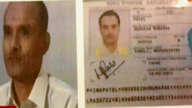 A TV grab of Kulbhushan Yadav, whom Pakistan has arrested for his alleged links with India's foreign espionage agency RAW.