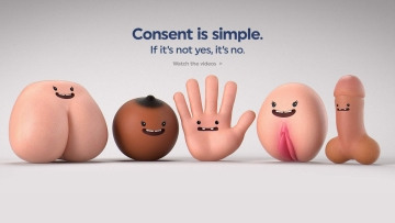 Consent is simple. (Photo Courtesy: Project Consent)