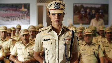 Priyanka Chopra in a scene from <i>Jai Gangaajal</i> (Photo: Facebook/<i>Jai Gangaajal</i> Official page)