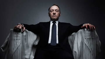 Kevin Spacey in House of Cards. (Photo: Netflix)