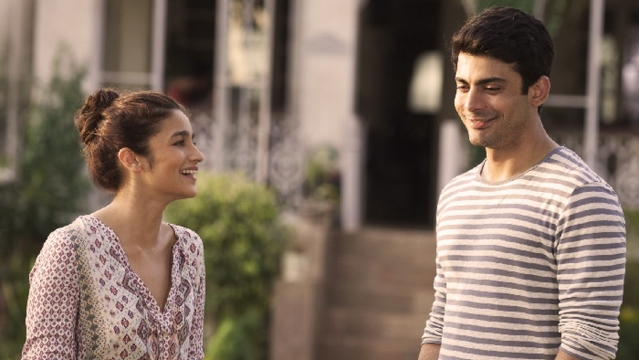 Alia Bhatt and Fawad Khan in a scene from <i>Kapoor & Sons.</i>