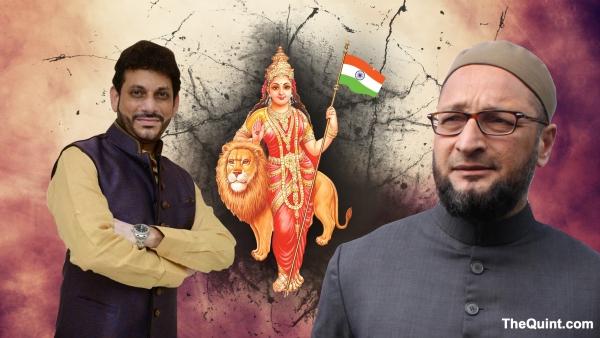 <i>Bharat Mata ki jai</i> appears to have become the latest acid test of Indian nationalism, writes Shashi Tharoor. (Photo: The Quint)