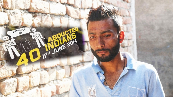 Harjit Masih is the only one of 40 Indians kidnapped by the ISIS in June, 2014 to have returned to India.