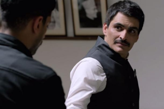 Manav Kaul plays the bad guy in <i>Jai Gangaajal </i>(Photo: YouTube/PJP-Play)