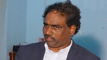 """Andhra Pradesh's minister for social welfare Ravela Kishore Babu.(Photo: <a href=""""https://twitter.com/ravelakishore"""">Twitter</a>)"""