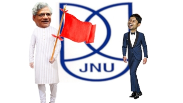 Don't miss this hilarious mashup of JNU action with a Bollywood number