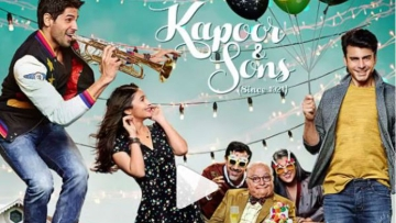 A poster from the film, <i>Kapoor & Sons</i>. (Photo: Kapoor & Sons poster)