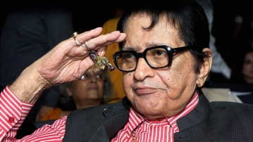 Veteran actor Manoj Kumar.