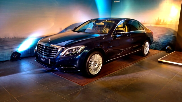 Mercedes-Benz S 400. (Photo: <b>The Quint</b>)