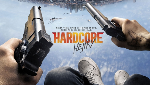 A poster of <i>Hardcore Henry </i>