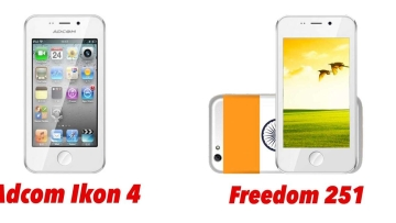 Adcom Ikon 4 and Freedom 251 by Ringing Bells are the same. (Photo: <b>The Quint</b>)