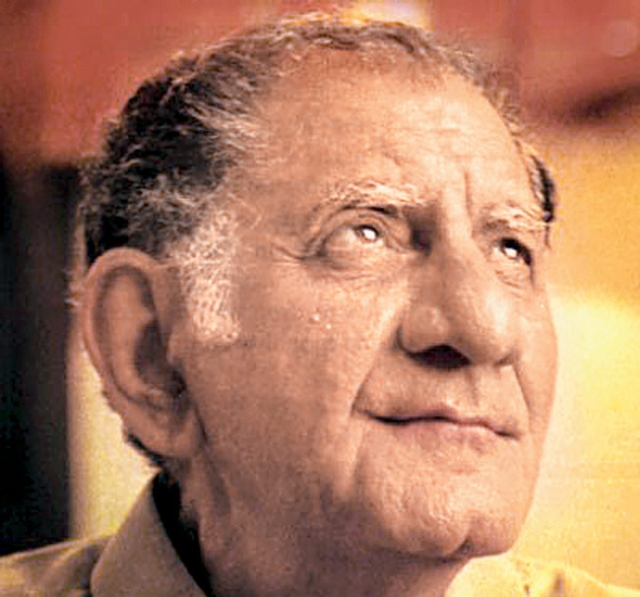 Anand Bakshi passed away on March 30, 2002. (Photo Courtesy: Khalid Mohamed)