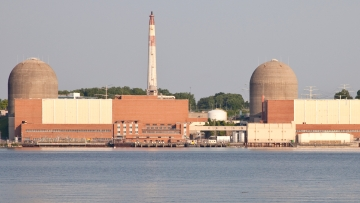 Indian Point nuclear reactor outside New York city. (Photo: iStockphoto)