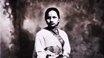 Dr Anandibai Goplarao Joshi, the first Indian woman to acquire a degree in Western medicine from the USA in the nineteenth century.