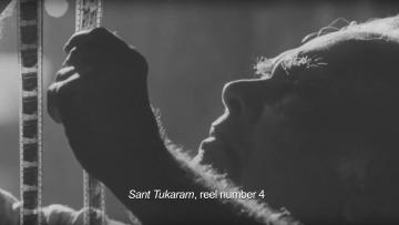 "A still from Shivendra Singh Dungarpur's documentary on film archivist PK Nair. (Photo: <a href=""https://www.youtube.com/watch?v=mTPcHAKk4bo"">YouTube</a> Screenshot)"