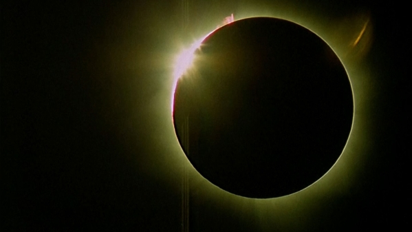 A representative image of a solar eclipse.