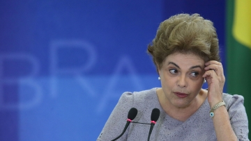Brazil President Dilma Rousseff  (Picture Courtesy: AP Exchange)