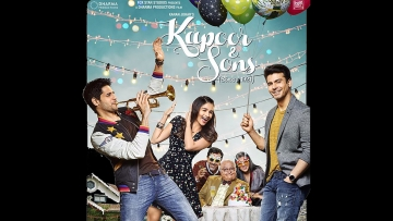 "The poster of Kapoor & Sons. (Photo: <a href=""https://twitter.com/BollywoodMusic8/status/702328985837969409"">Twitter</a>)"